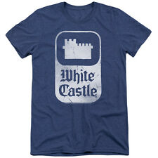 White Castle Classic Logo Mens Tri-Blend Short Sleeve Shirt ROYAL