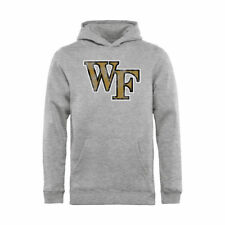 Wake Forest Demon Deacons Youth Ash Classic Primary Logo Pullover Hoodie