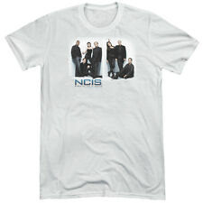 NCIS White Room Mens Tri-Blend Short Sleeve Shirt WHITE