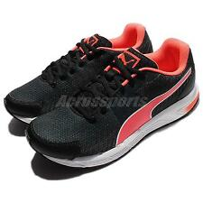 Puma Sequence V2 Wn Black Fluo Peach Women Running Shoes Sneakers 188532-02
