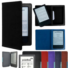 Magnetic Auto Sleep Leather Cover Case For 2016 PocketBook Touch HD 631 Ereader