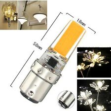 10/5/1pcs 7W 2508 COB Leds BA15d Led Light Dimmable bulb 110/220V White/Warm