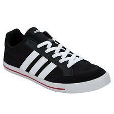 Mens adidas Neo D Summer Trainers In Black / White From Get The Label