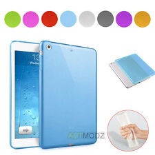 Luxury Soft TPU Silicone Gel Back Skin Clear Crystal Case Cover For iPad 5 Air 1