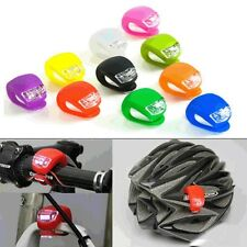 Outdoor Bicycle Safety Silicone Bike Front / Rear LED Frog Light Warning Lamp