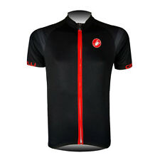 New Mens Cycling Jersey Bike Bicycle Short Sleeve Tops Biking Clothing Polyester