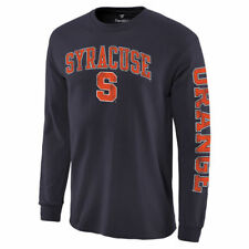 Syracuse Orange Navy Distressed Arch Over Logo Long Sleeve Hit T-Shirt