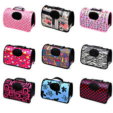 New Dog Cat Soft Portable Tote Carrier House Kennel Pet Travel Bag Canvas Cage