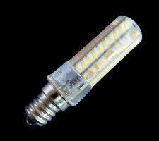 10x Dimmable E12 80-4014SMD LED Light BULB 5W 500LM 110/240V Silicone White/warm