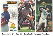 1994 Fleer Extra Bases Rookie Standout Baseball Set ** Pick Your Team **