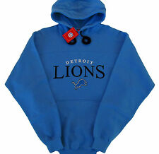Detroit Lions NFL Touchdown Pullover Hoodie - Adult Large - Honolulu Blue - NWT