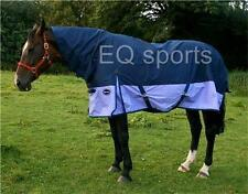 """FREE P&P Knight Rider Light Weight Turnout Rug Full Neck 3'0""""- 4'3"""" Pony/Foal !!"""