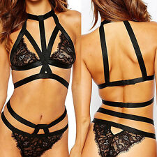 Women's Sexy Lingerie Underwear Night Perspective Sleepwear Lace Dress G-string