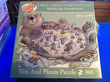 NEW - Bits and Pieces - 300 Large Format Shaped Jigsaw - OTTER BAY