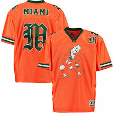 Starter Miami Hurricanes Orange Vault Jersey