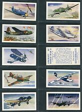 "HITCHMAN'S DAIRIES 1966 ""AIRCRAFT OF WORLD WAR II"" TEA CARDS - PICK YOUR CARD"