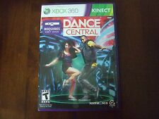 Dance Central Microsoft Xbox 360 game kinect