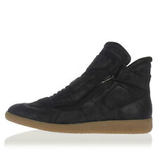 MARTIN MARGIELA MM22 Man Speed Low Bike Top Leather Sneakers