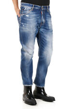 DSQUARED2 Dsquared² New Men Jeans Denim Cotton Blend Destroyed  Made  Italy