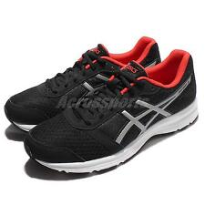 Asics Patriot 8 Black Red White Men Running Shoes Sneakers Trainers T619N-9091