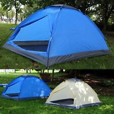 2 Man Person Berth Family Outdoor Pitch Festival Camping Dome Tent Waterproof UK