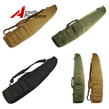 """1X Tactical 100CM/38"""" Airsoft Hunting Padded Rifle Gun Carry Case Shoulder Bag"""