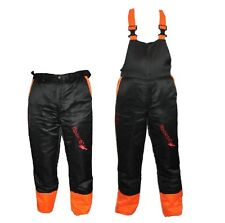 Chainsaw Safety Forestry Trousers Or Bib & Brace Ideal For Castor Users