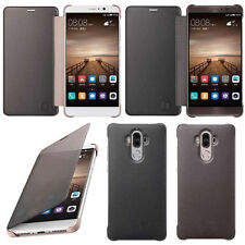 Luxury Smart window Sleep Wake UP Flip Leather Case Cover for Huawei Mate 9 New