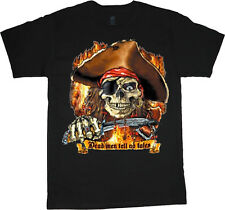 big and tall shirts for men funny Pirate saying dead men tell no tales tee shirt