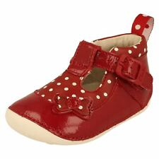 Girls Clarks First Shoes Label Ida Delilah -W