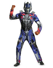 Childs Boys Hasbro Transformers 4 Age of Extinction Optimus Prime Muscle Costume