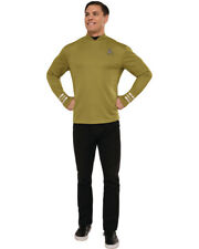 Star Trek Beyond Gold Captain Kirk Adult Command Costume Shirt