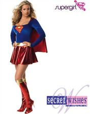 Women's Sexy Supergirl Super Girl 1-Piece Costume