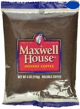 Maxwell House Instant Coffee 4-Ounce Bag CHOOSE 1, 3, 6, OR 16 Lot ( Korea )