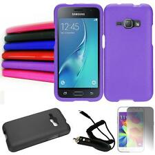 Phone Case For Samsung Galaxy J1 Luna / Express-3 Hard Cover Car Charger Flim
