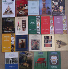 SELECTION OF AUCTION CATALOGUES - CHRISTIE'S SOUTHEBY'S & OTHERS