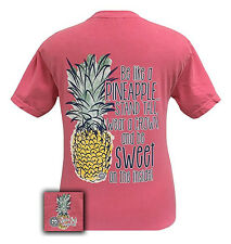 Girlie Girl Originals T-Shirt - Be A Pineapple - Comfort Color Tee