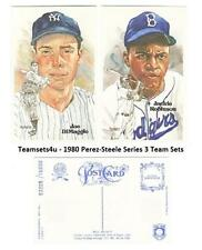 1980 Perez-Steele Hall of Fame (HOF) Postcards Series 3 ** Pick Your Team **