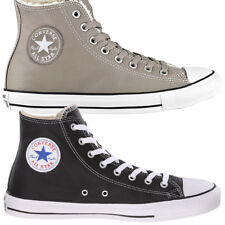 Converse Chuck Taylor All Star HI Leather Shoes Trainers Unisex Leather new