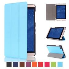 """Ultra Slim Tri-Fold PU Leather Case Stand for 8"""" Huawei MediaPad M2 Tablet"""