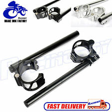 """7/8"""" HandleBar Clip Ons On 43mm For Yamaha YZF R6 1999-2004 Quick Release"""