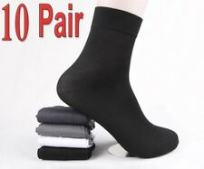 10 Pair Men Short Bamboo Fiber Socks Stockings Middle Socks For Winter/Autumn