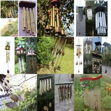 Various Windchimes Wind Chime Tubes Bell Rustic Hanging Ornament Home Decor Gift