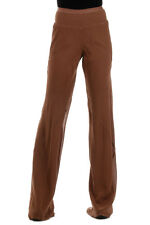RICK OWENS New Woman henna Silk Pants Trousers Made in Italy NWT