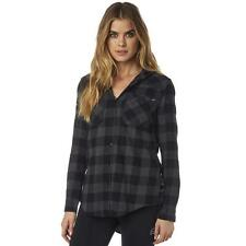 Fox Racing Women's Deny Long Sleeve Flannel Hoodie - 18088