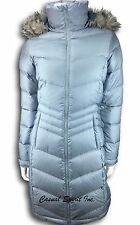 Columbia womens Omni Heat 650 Fill Down Jacket long winter coat Gray XS S M L XL