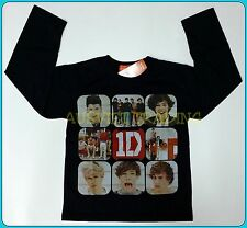 BNWT One Direction 1D Top T-shirt long sleeves girls Tshirt 100% cotton new