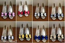 SHOE CLIPS VINTAGE STYLE GLAMOUR VARIOUS COLOURS