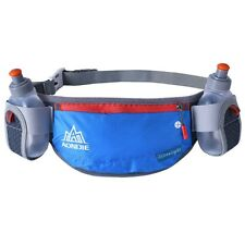 Outdoor Running Belt Holder Hydration Bottle Water Carrier Belt Pack WITH BOTTLE