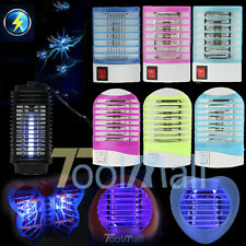New Electric LED Mosquito Fly Flying Bug Insect Trap Zapper Killer Night Lamp